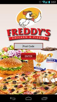 Freddys Chicken and Pizza poster