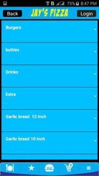 Jays Pizza screenshot 2