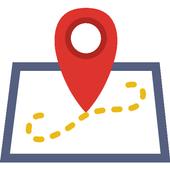 Location TrackBook icon