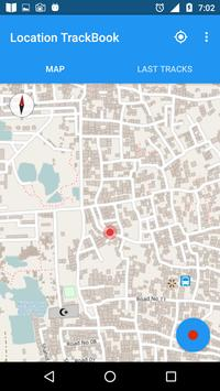 Location TrackBook screenshot 1
