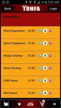 Tohfa Cuisine screenshot 4