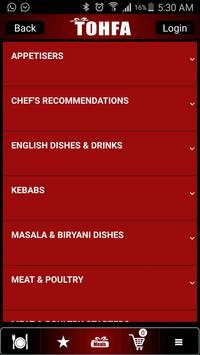 Tohfa Cuisine screenshot 2