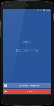 Amber Decorators poster