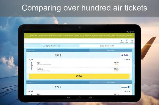 Baltic Air Tickets Prices apk screenshot