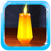 Candle Magic Live Wallpaper icon