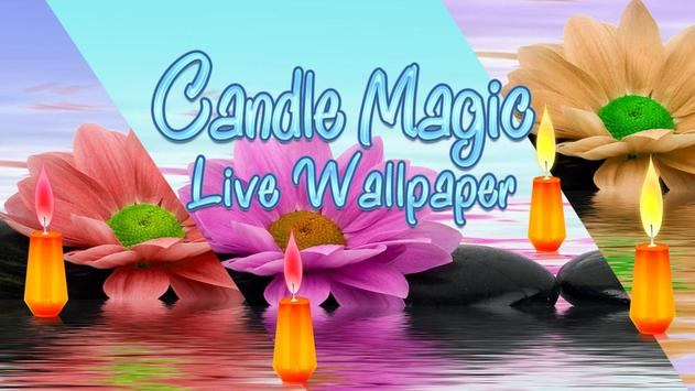 Candle Magic Live Wallpaper poster