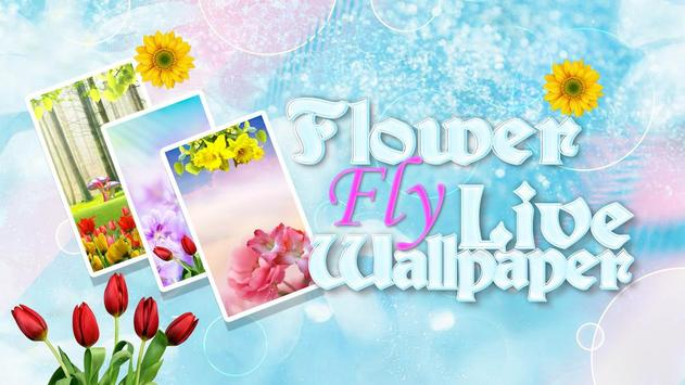 Flower Fly Live Wallpaper apk screenshot