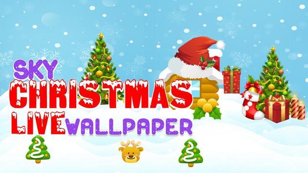 Sky Christmas Live Wallpaper screenshot 3