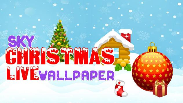 Sky Christmas Live Wallpaper screenshot 1