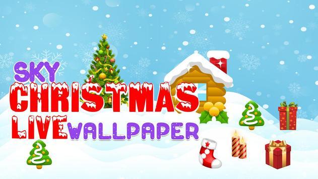 Sky Christmas Live Wallpaper screenshot 2