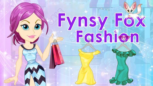 Fynsy Fox Fashion poster