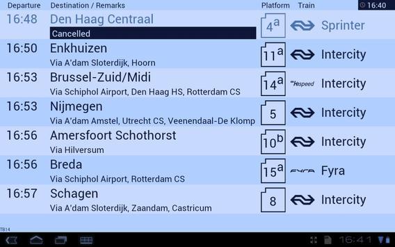 Treinbord screenshot 2