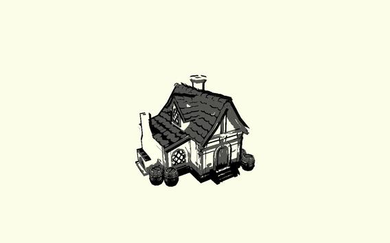 House Sketch 3D LWP Free apk screenshot