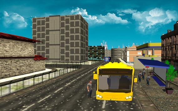 City Bus Driving Simulator 3D screenshot 5