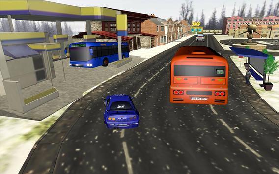 City Bus Driving Simulator 3D screenshot 13