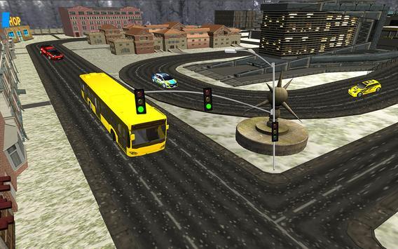 City Bus Driving Simulator 3D screenshot 16