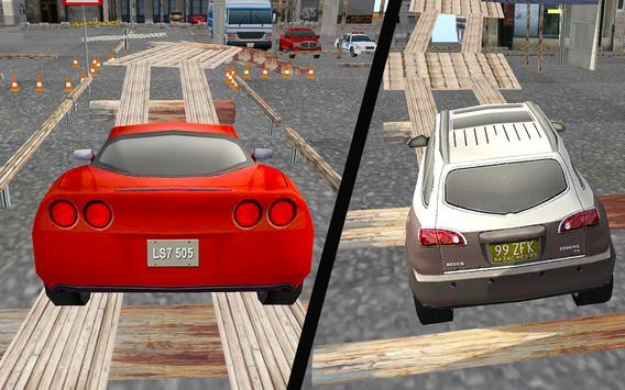 Crazy Car Parking-Stunt Driver screenshot 13