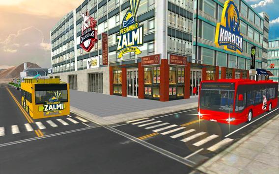 PSL Transport Duty-PSL Game 2018 poster