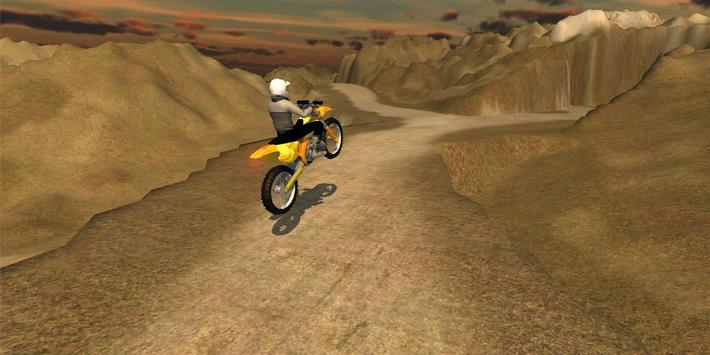Offroad Motorcycle Driver 3D poster