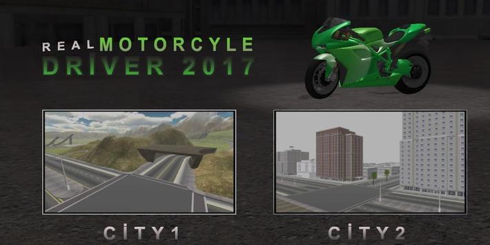 Real Motorcycle Driver 2017 apk screenshot