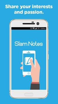 Slam Notes poster