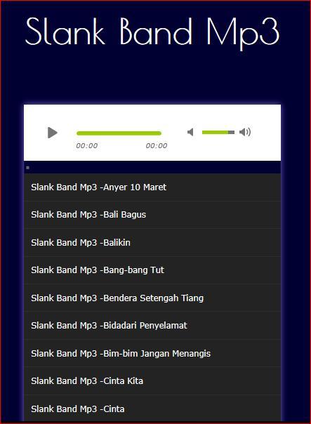 Lagu SLANK Terlengkap Mp3 for Android - APK Download