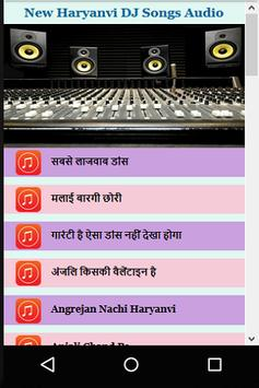 Latest Haryanvi DJ Songs Audio screenshot 6