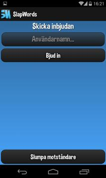 SlapWords apk screenshot