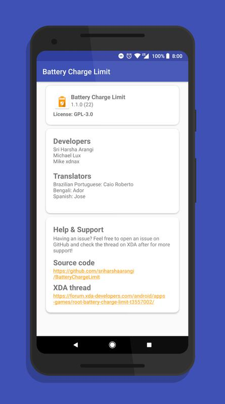 Battery Charge Limit For Android Apk Download