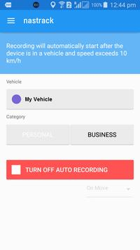 NASTRACK - GPS Vehicle Tracker poster