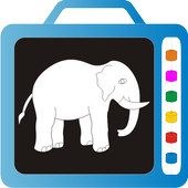 Kids Trace Wild Animals Learn icon