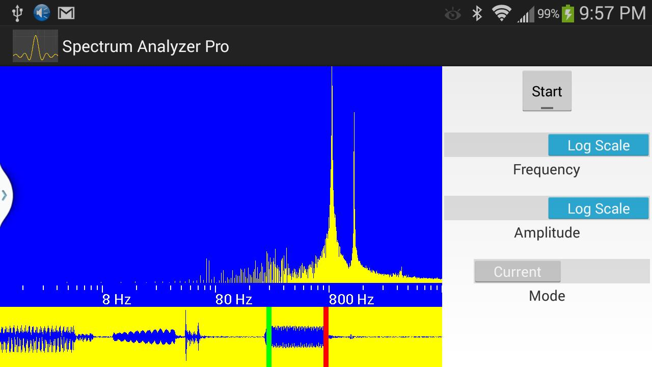 AUDIO SPECTRUM ANALYZER FREE for Android - APK Download
