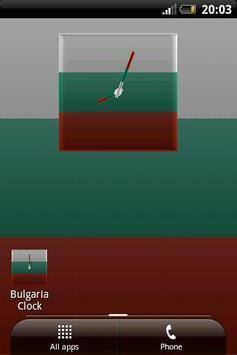 Bulgaria Clock poster