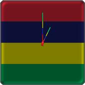 Mauritius Clock icon