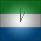 Sierra Leone Clock icon