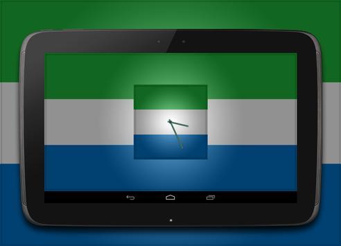 Sierra Leone Clock screenshot 1