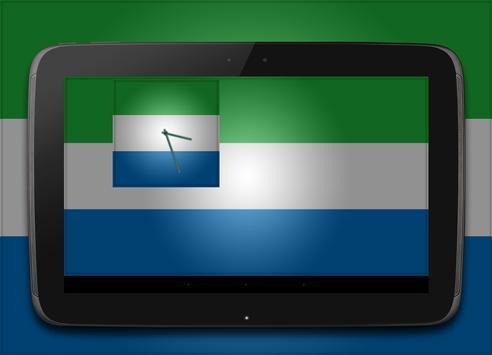 Sierra Leone Clock screenshot 4
