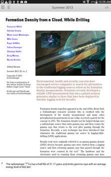 Oilfield Review screenshot 8