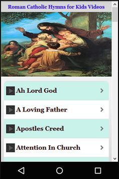 Catholic Hymns Kids Videos screenshot 4