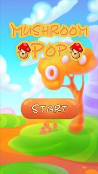 Mushroom Pop poster