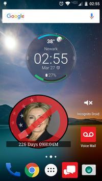 No Hillary Countdown Widget apk screenshot