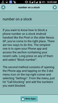 Blacklist (Calls And Number) apk screenshot