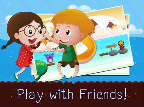Blocky War Jump Lego Cookie Iron Saga Man apk screenshot