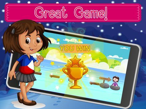 Princess Witch Sofia Bubble Blocky First Jump apk screenshot