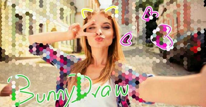 BunnyDraw - DoodleDrawing & Digital art apk screenshot