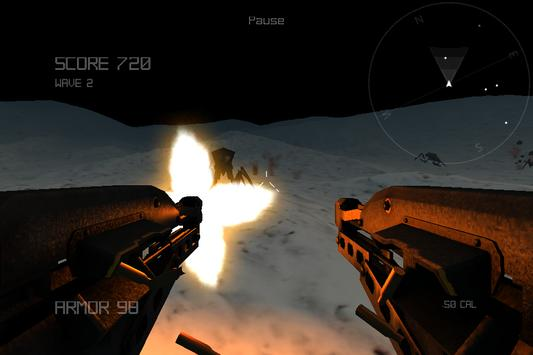 Alien Insect Shooter on Moon screenshot 3