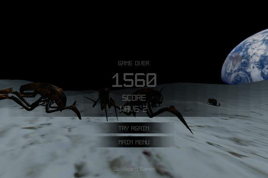 Alien Insect Shooter on Moon screenshot 4