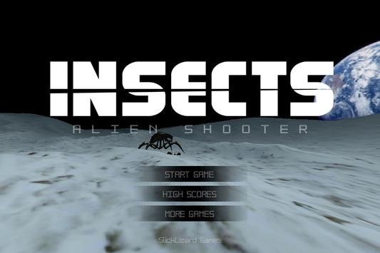 Alien Insect Shooter on Moon screenshot 5
