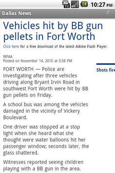 Dallas Local News apk screenshot