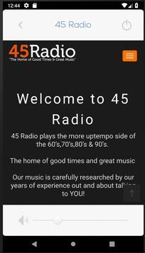 45 Radio poster